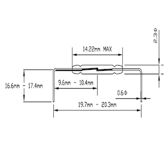 GR/GP-560彎腳型磁簧開關 1
